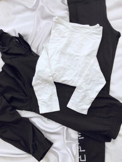 Camiseta termica manga larga de microfibra sin costura